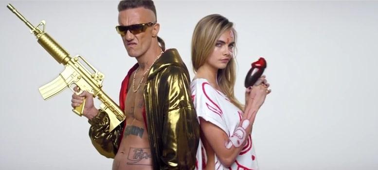 Cara Delevingne, Flea o Marilyn Manson en el nuevo vídeo de Die Antwoord