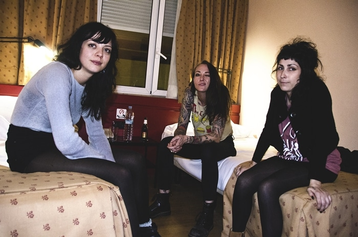 Una noche con The Coathangers en Madrid
