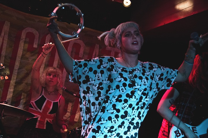 Crónica: Tacocat + His Majesty The King, Madrid 2014