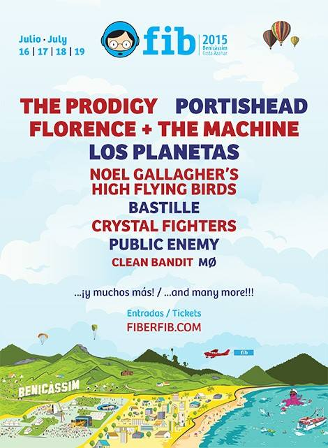 The Prodigy, Noel Gallagher, Portishead… vuelve el FIB