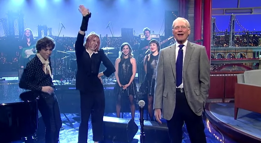 Letterman no olvidará la actuación de Foxygen