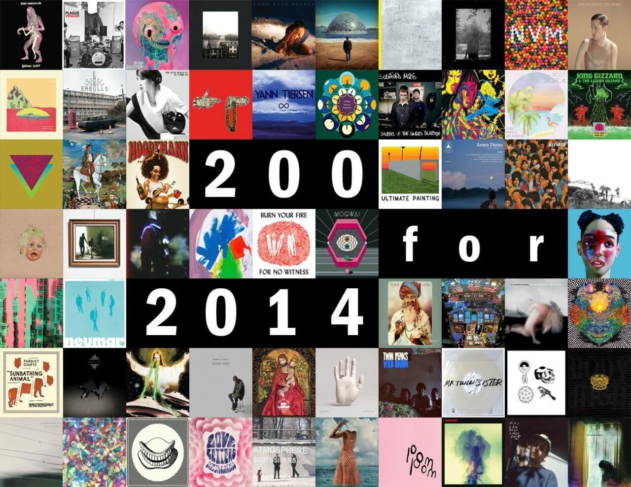 Las 200 mejores canciones de 2014