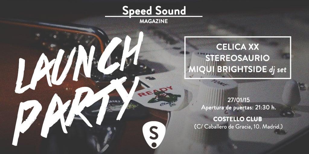Nace Speed Sound y lo celebra con una fiesta mañana en Costello