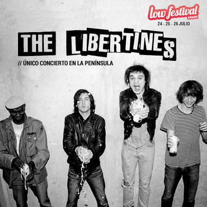 The Libertines, directos al Low Festival 2015