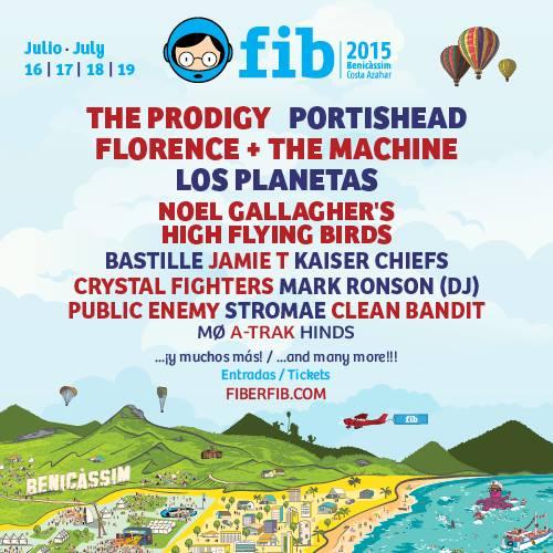 Stromae, Kaiser Chiefs y Jamie T estarán en el FIB 2015