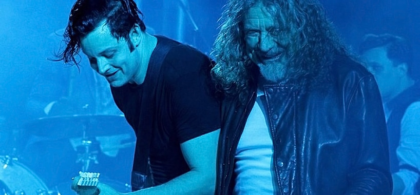 Jack White y Robert Plant, juntos en el Lollapalooza Argentina