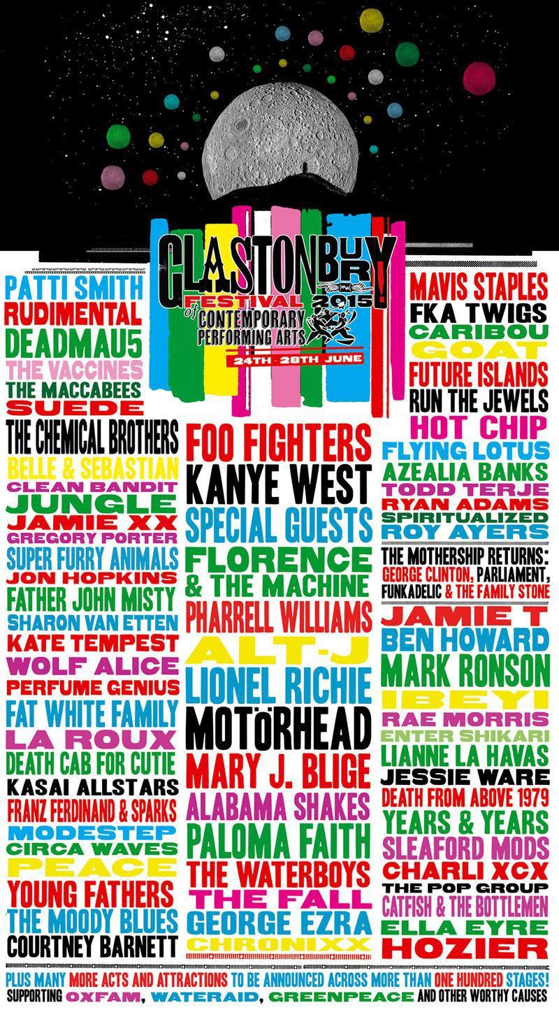 Glastonbury 2015, el arte de acertar