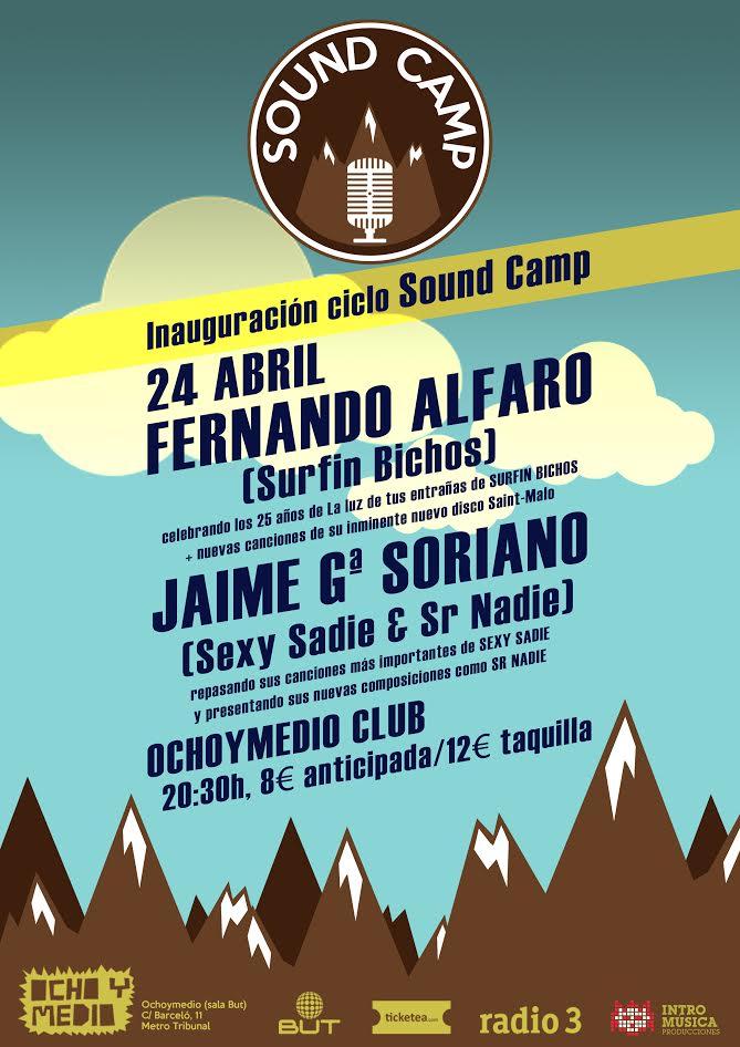 Nace el ciclo Sound Camp y tú puedes conseguir entradas dobles