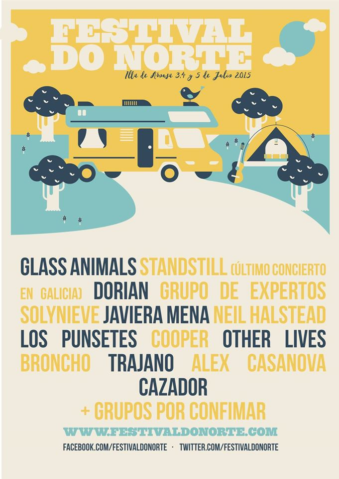 Vuelve el Festival do Norte: Glass Animals, Neil Halstead…