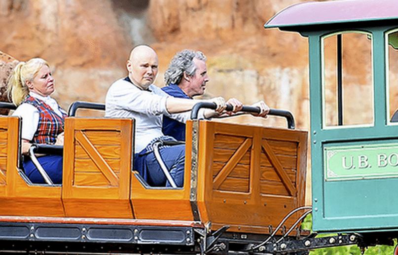 La verdadera historia detrás de la imagen de Billy Corgan en Disneyland
