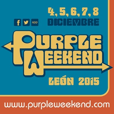 Purple Weekend 2015: vuelve lo retro