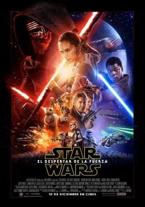 poster star wars despertar fuerza