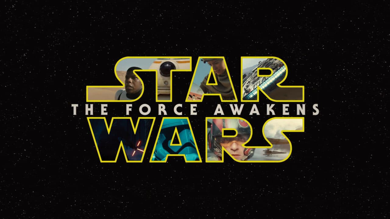 Este es el póster de Star Wars: El despertar de la fuerza