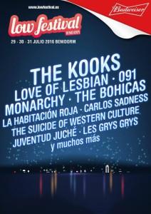 low festival 2016 kooks