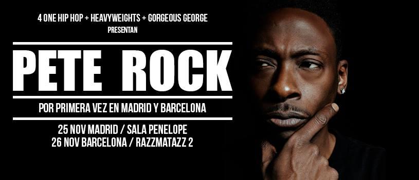 El legendario Pete Rock actuará este miércoles en Madrid por primera vez