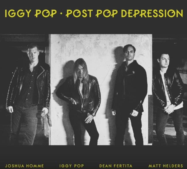 El disco de Iggy Pop, Josh Homme y Matt Helders ya suena bien alto