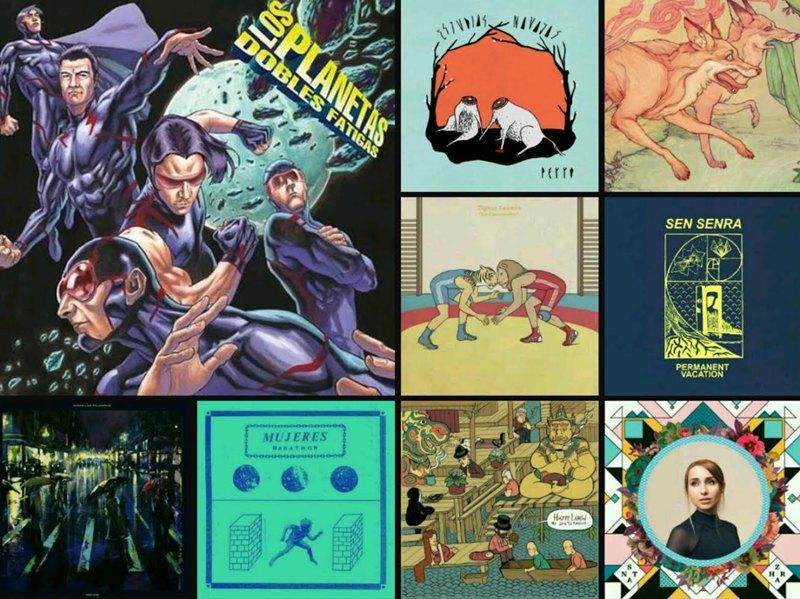 Los 10 mejores discos nacionales de 2015