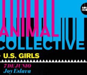 Animal Collective actuarán en Madrid el 7 de junio