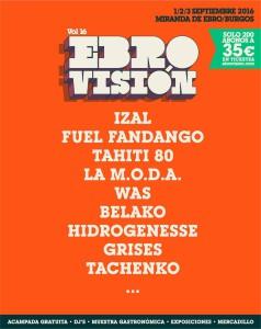 ebrovision 2016 cartel