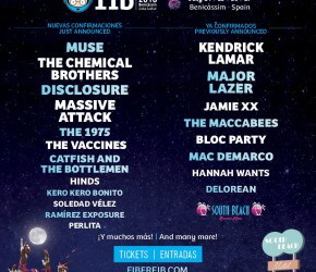 Muse, The Chemical Brothers, Massive Attack… el FIB 2016 viene fuerte