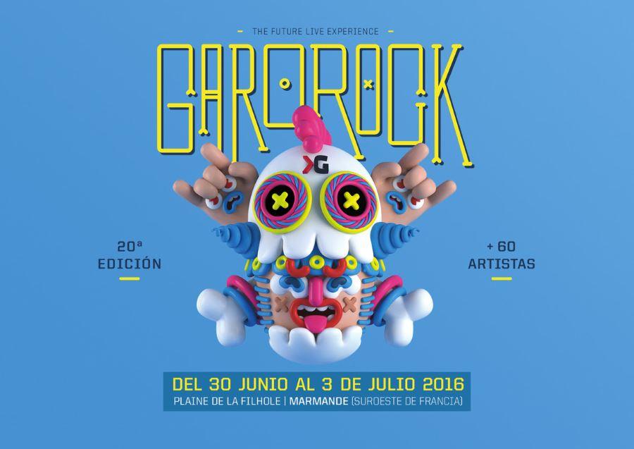 garorock 2016 cartel