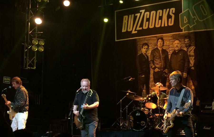 buzzcocks madrid 2016