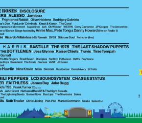 El cartel del T in the Park 2016 es imponente