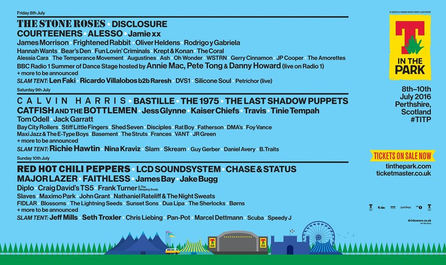 t in the park 2016 cartel