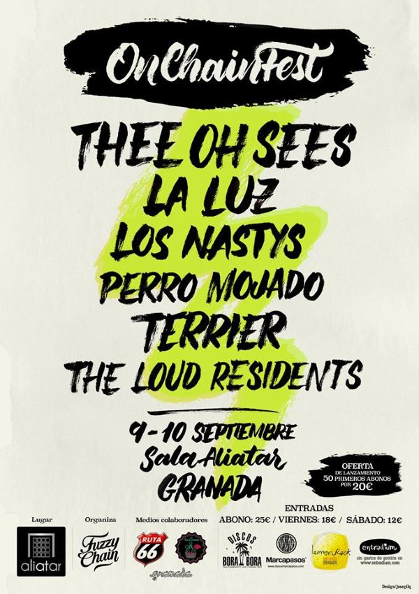 Cuenta atrás para el On Chain Fest 2016: Thee Oh Sees, La Luz, Los Nastys...