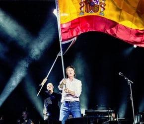 Crónica: Y los Beatles (Paul McCartney) visitaron Madrid