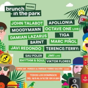 brunch in the park madrid 2016