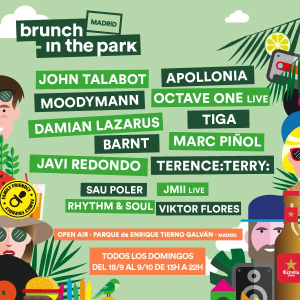 Brunch -In the Park Madrid 2016: los domingos más apetecibles