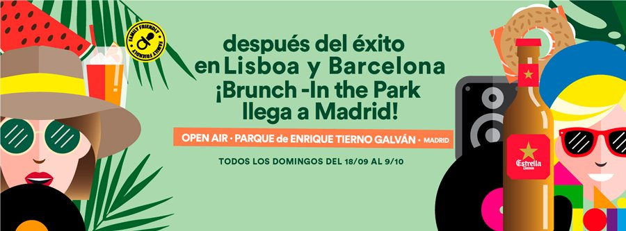 brunch in the park madrid
