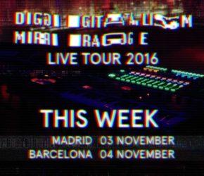 Digitalism desatarán su electrónica esta semana en Madrid y Barcelona