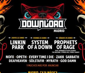 Download Festival 2017 Madrid: cartel, confirmaciones, entradas…