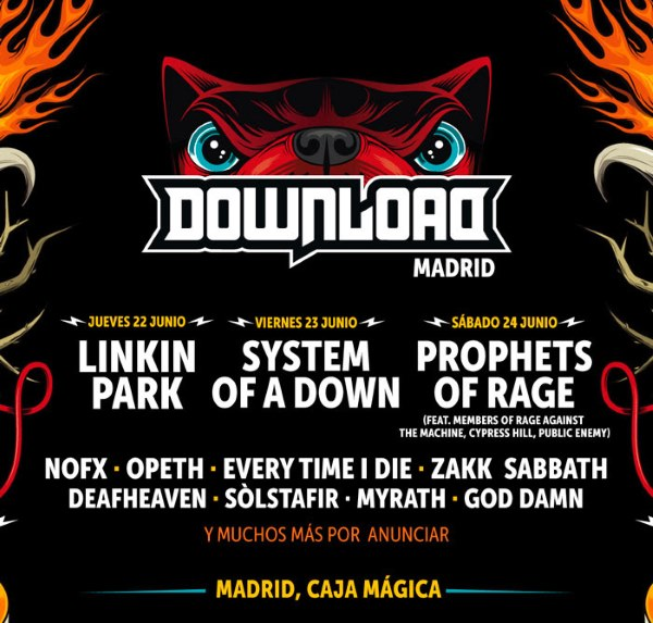 Download Festival 2017 Madrid: cartel, confirmaciones, entradas...