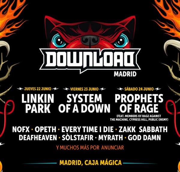 Download Festival 2017 Madrid: cartel, confirmaciones, entradas...