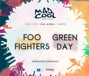 Mad Cool 2017: Green Day y Foo Fighters, primeras confirmaciones