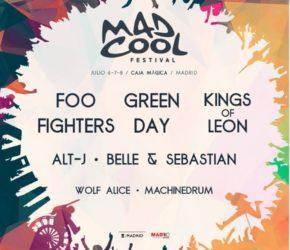 Mad Cool 2017, nuevas confirmaciones: Alt-J, Belle & Sebastian…