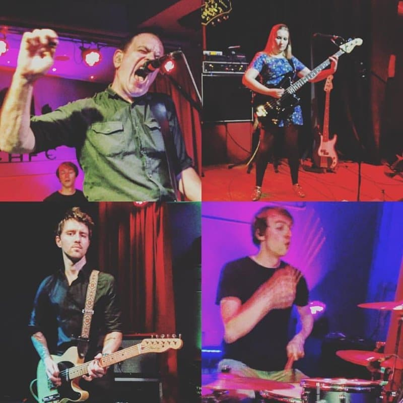 Crónica: The Wedding Present en Café Berlín (2016)