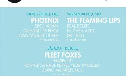 Phoenix, Fleet Foxes… Cartel de lujo para el Vida Festival 2017