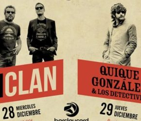 Festival Cultura Rock 2016: M Clan y Quique González para despedir el año