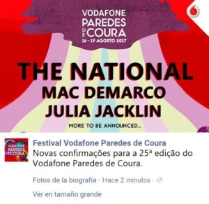 the national paredes coura