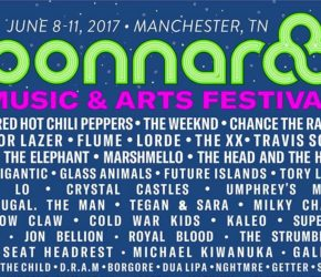 Bonnaroo 2017: cartel completo con U2, Red Hot Chili Peppers…