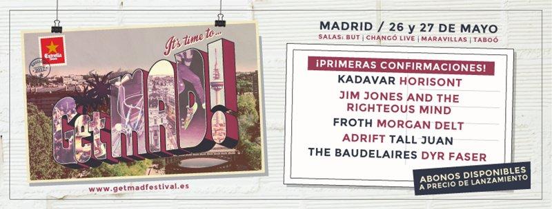 getmad festival 2017 cartel