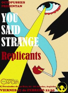 you said strange madrid
