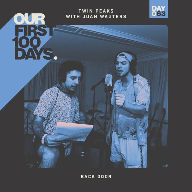"""Twin Peaks y Juan Wauters se hacen uno en """"Back Door"""""""