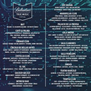 ballantines music festival salas