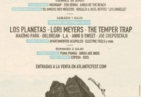 Atlantic Fest 2017 se consagra con Los Planetas, The Temper Trap…