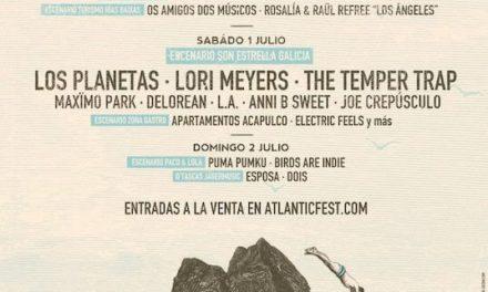 Atlantic Fest 2017 se consagra con Los Planetas, The Temper Trap…